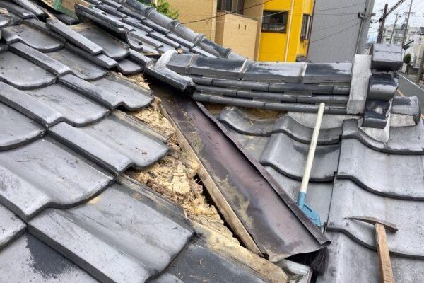 屋根工事(雨漏り補修)